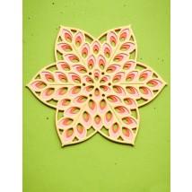 Birch Press Stanzschablone - Floral Star Layer Set