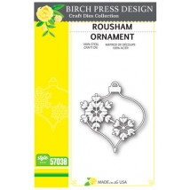 Birch Press Stanzschablone - Rousham Ornament