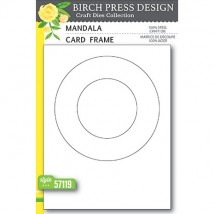 Birch Press Stanzschablone - Mandala Card Frame