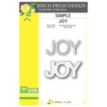 Birch Press Stanzschablone - Simple Joy
