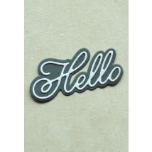 Birch Press Stanzschablone - Handwritten Hello and Outline