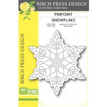 Birch Press Stanzschablone - Pinpoint Snowflake