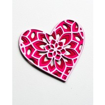 Birch Press Stanzschablone - Kinsley Heart Layer Set