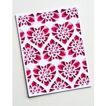 Birch Press Stanzschablone - Kinsley Heart Plate Layer Set
