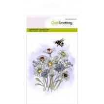 CraftEmotions Clearstamps A6 - Wildblumen 1