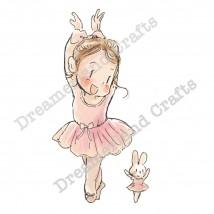 Dreamerland Crafts Cling Stamps - My Favorite Dance Partner