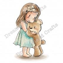 Dreamerland Crafts Cling Stamps - A Friendship Hug