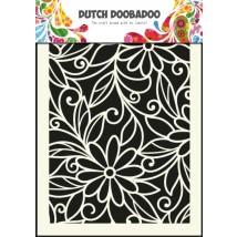 Dutch Doobadoo Mask Art Stencil A5 - Blumen-Schnörkel