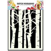 Dutch Doobadoo Mask Art Stencil A5 - Birken