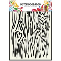 Dutch Doobadoo Mask Art Stencil A5 - Holzmaserung