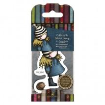 Gorjuss Collectable Rubber Stamp - Santoro - No. 35 The Friendly Hedgehog