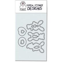 Gerda Steiner Design - Happy Hoppy Stanzschablonen-Set