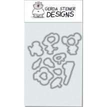 Gerda Steiner Designs - Fall Mice Stanzschablonen-Set