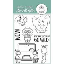 Gerda Steiner Designs Clear Stamps - Go Wild!