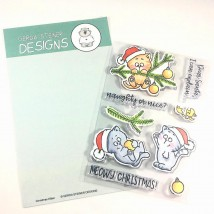 Gerda Steiner Designs Clear Stamps - Christmas Kitties