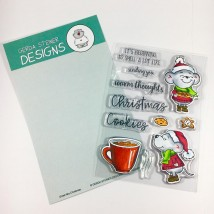 Gerda Steiner Designs Clear Stamps - Smell like Christmas