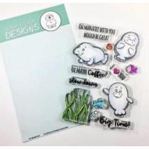 Gerda Steiner Designs Clear Stamps - Oh Manatee