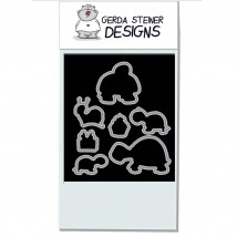 Gerda Steiner Designs - Turtley Great Dies
