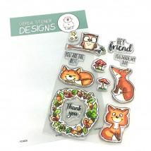 Gerda Steiner Designs Clear Stamps - Foxes
