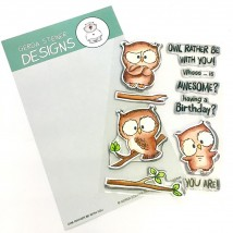 Gerda Steiner Designs Clear Stamps - Owl Rather Be With You