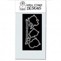 Gerda Steiner Designs - Owl Rather Be With You Stanzschablonen-Set