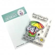 Gerda Steiner Designs Clear Stamps - Under The Weather 3x4