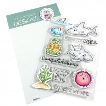 Gerda Steiner Designs Clear Stamps - Big Bite 4x6