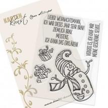 Karten-Kunst Clear Stamp Set - Braver Schneemann