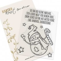 Karten-Kunst Clear Stamp Set - Zaubersterne