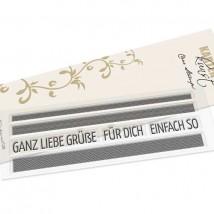 Karten-Kunst Clear Stamp Set - Karomusterstreifen