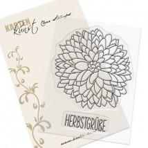 Karten-Kunst Clear Stamp Set - Chrysanthemum