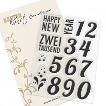 Karten-Kunst Clear Stamp Set - Happy New Year
