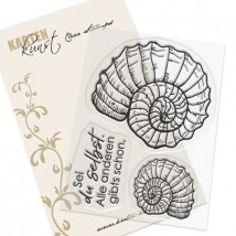 Karten-Kunst Clear Stamp Set - Ammonit