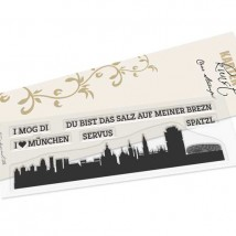 Karten-Kunst Clear Stamp Set - Skyline München