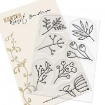 Karten-Kunst Clear Stamp Set - Doodle Plants