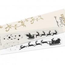 Karten-Kunst Clear Stamp Set - Santa Silhouette
