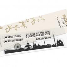 Karten-Kunst Clear Stamps KK-0190 - Skyline Stuttgart