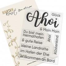 Karten-Kunst Clear Stamps KK-0195 - Riesige Wünsche Ahoi