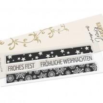 Karten-Kunst Clear Stamps KK-0199 - Washi-Tape Weihnachten