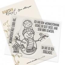 Karten-Kunst Clear Stamps KK-0200 - Weihnachten fällt aus