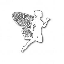 Karten-Kunst Stanzschablone - Flying Fairy