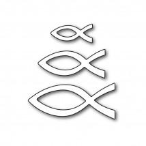 Karten-Kunst Stanzschablone - Ichthys
