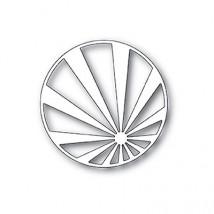 Memory Box Stanzschablone - Sunburst Stripe Circle