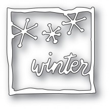 Memory Box Stanzschablone - Winter Journal Frame