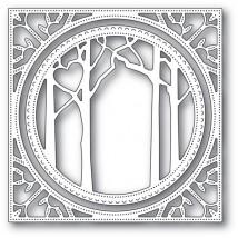 Memory Box Stanzschablone - Woodland Heart Frame