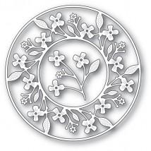 Memory Box Stanzschablone - Cottage Flower Circle Frame