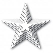 Memory Box Stanzschablone - Shining Star Set