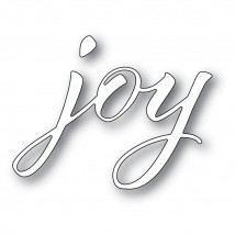 Memory Box Stanzschablone - Joy Airy Script