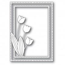 Memory Box Stanzschablone - Tulip Trio Frame