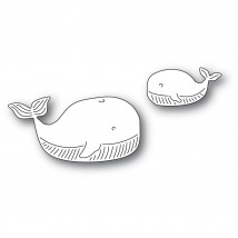 Memory Box Stanzschablone - Whale Family